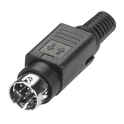 mini din and quicklock connector