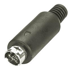mini din assembly plug