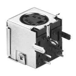 mini din horizontal sockets