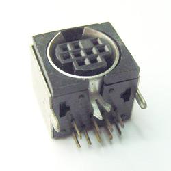 mini din horizontal sockets pcb