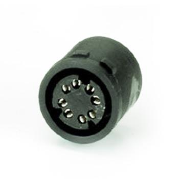 mini din molded socket soldes types