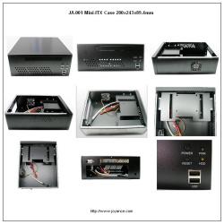 Mini-ITX  Cases 280x243x89.4mm