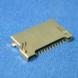 mini secure digital card connectors