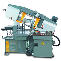 miter cutting automatic band saws