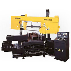 miter cutting band sawing machines