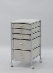 mobile storage cardboard drawer carts