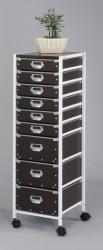 mobile storage cardboard drawer carts
