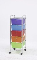 mobile storage drawer carts