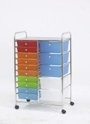 mobile storage drawer carts