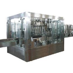 mono block glass bottle washing machines
