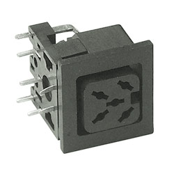 multi pole assembly socket type