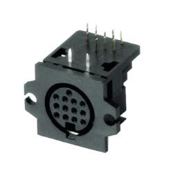 multi pole horizontal plug pcb quick lock