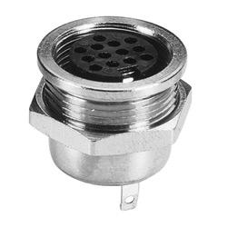 multi pole metal socket soldes types