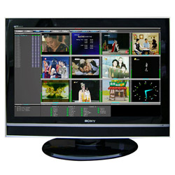 multiview broadcast monitoring system