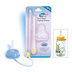 non spill safety straw set