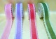 Non-woven Ribbons With Bright Powder And Flower Side