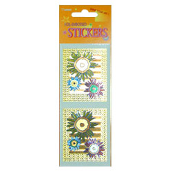 novelty items foil embossed stickers