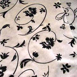 nylon fabric with flower patterns