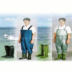 nylon raincoat and trousers