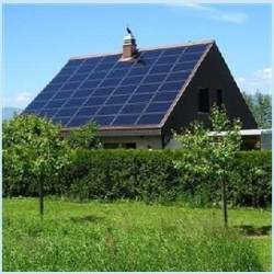 off-grid solar photovoltaic solar energy system
