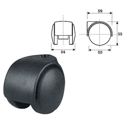 office chair castors