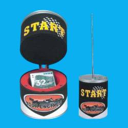 oil bucket style radios