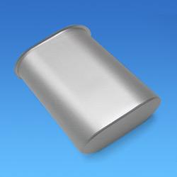 oval aluminum shells