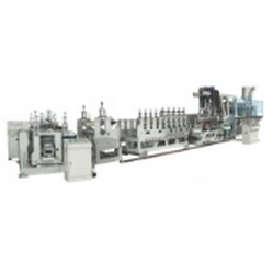 pc corrugated sheet co-extrusion lines