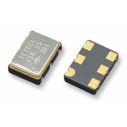 pecl/lvds multiplier crystal oscillator