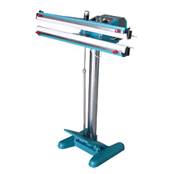 pedal double sides heating sealer machines