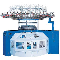 pf single open width kintting machine