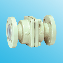 pfa lined check valve