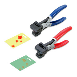 photo cutters and  hand slot punches