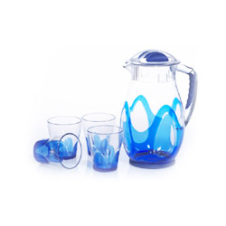 water pitchers cups