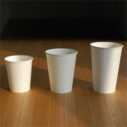pla coated paper hot cups