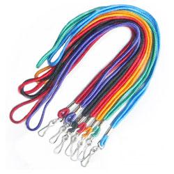 "1/8"" nylon plain cord lanyard"