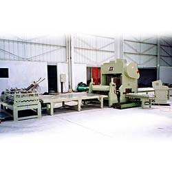 plano type perforated metal machine