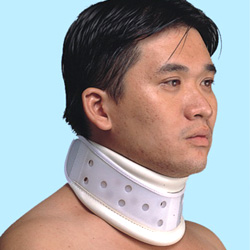 plastic cervical collar