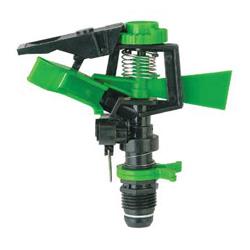 plastic impulse sprinklers