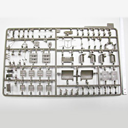 plastic model parts