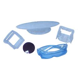 plastic molding parts (transparent parts species)