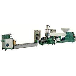 plastic pellet reproducing machine