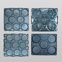 plastic wheel trays