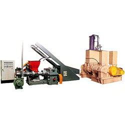 plastics pelletizer and kneader machines