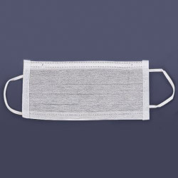pleated active carbon mask