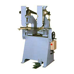 pneumatic eyeleting machine