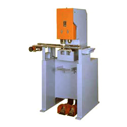 pneumatic fingering punching and fitting machine
