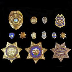 Police Badges | Chi Chang Handicraft Co , Ltd  | B2BManufactures com