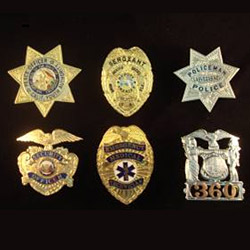 Police Badges ( Custom Badges ) | Chi Chang Handicraft Co