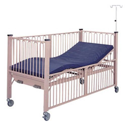 powder coated 2 crank infant nursing beds